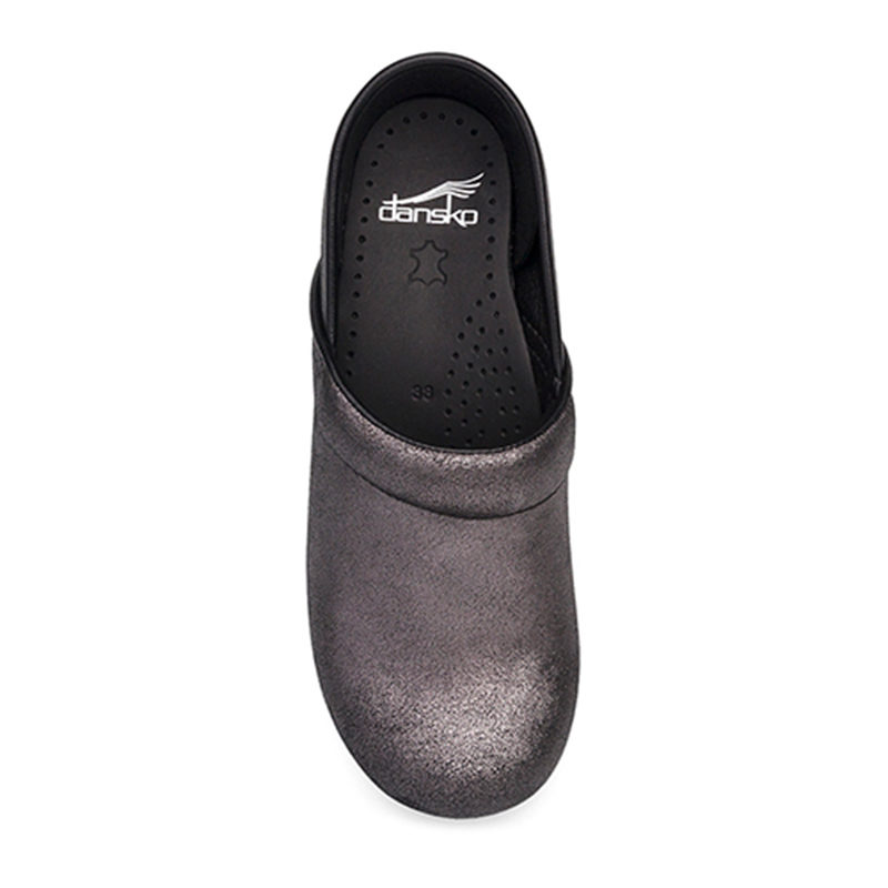 Dansko Professional Black Metallic sopra