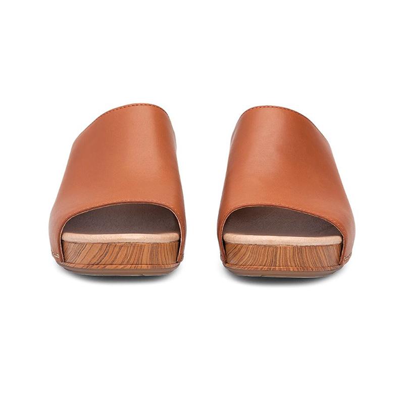 Dansko Maci Camel Full Grain Dansko Footwear