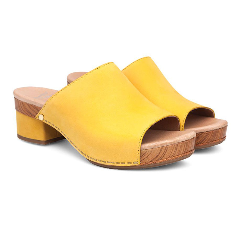 Dansko Maci Yellow 3