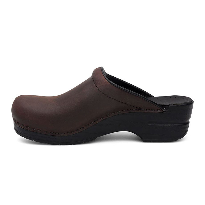 Dansko Sonja Antique Brown 2