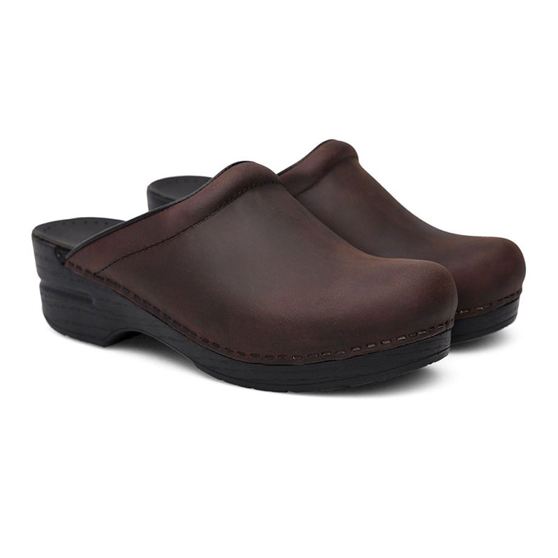 Dansko Sonja Antique Brown 3